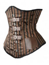 Steel Boned Steam Punk Under Bust Corset