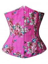 Pink Floral Corset
