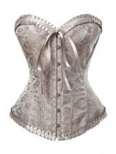 Palace Butterfly Bow Brocade Corset