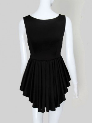 Black Cocktail Lady Dress
