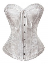 Noble Excellent Brocade Corset