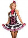 Clearance! Harlequin Honey Costume Set