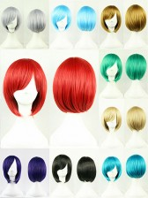 Premium Quality Solid Color Bob Wigs
