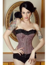 New Arrival! Classic Ruffle Overbust Corset