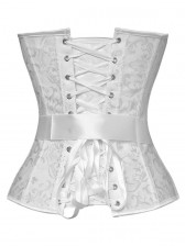 Embroidered Bow Corset