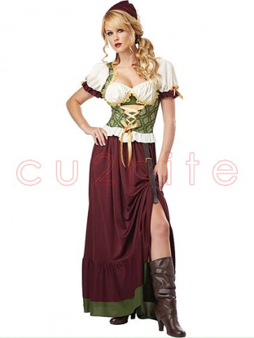 Renaissance Beer Wench Costume