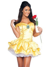 Clearance! Princess Beauty Belle Costume