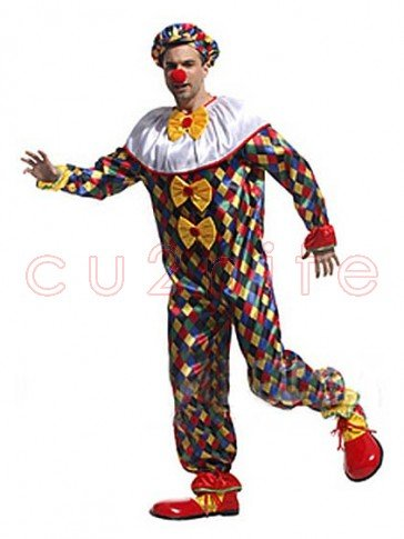 Deluxe Funny Clown Costume