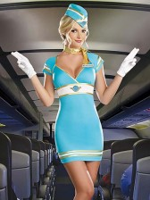 Air Candy Flight Attendant Costume
