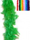 Green Feather Boa 190cm