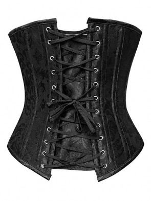 Double Spiral Steel Boned Heavy Duty Hourglass Creator Under Bust Corset