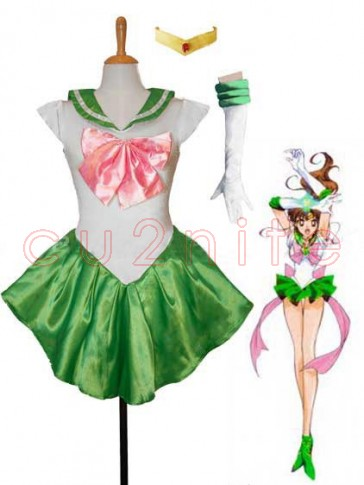 Green Sailor Jupiter Costume