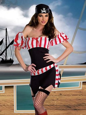 Adult Sexy Ship Ahoy Pirate Costume