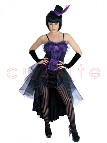 SALE! Purple Burlesque Costume