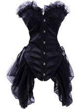 Burlesque Black Bustier