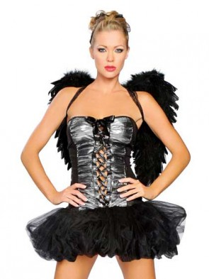 SALE! Deluxe Naughty Dark Angel Costume