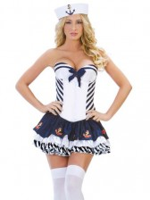 Sassy Stripe Sailor Costume