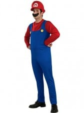 Super Mario Bros Mario Mens Costume