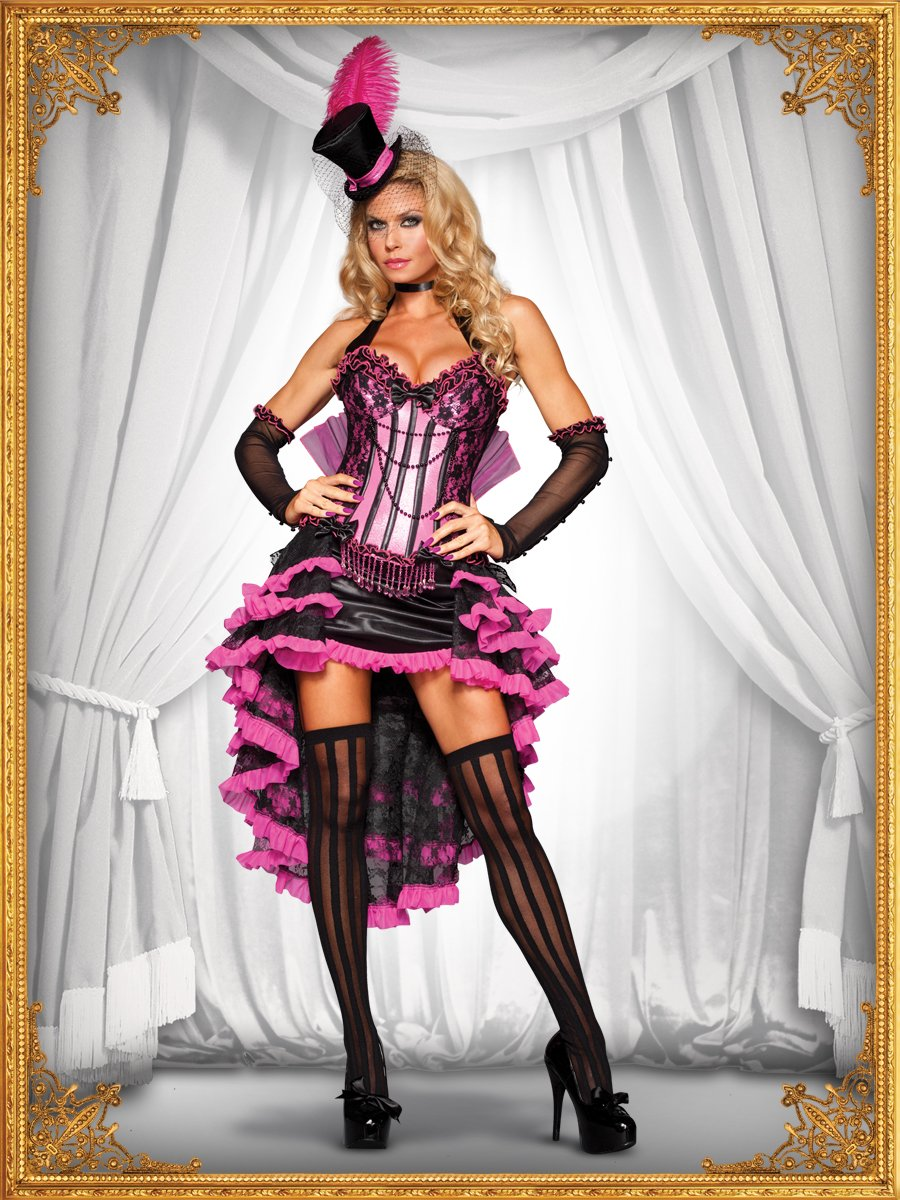 burlesque beauty costume front